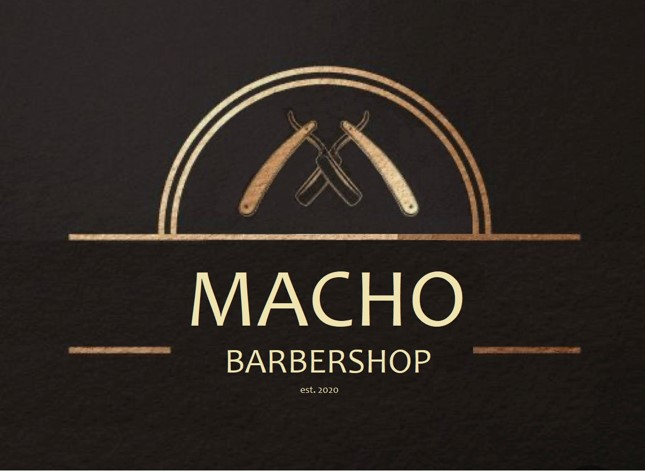 logo macho-barbershop